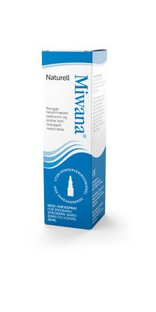 Miwana Næsespray Naturel 30 ml