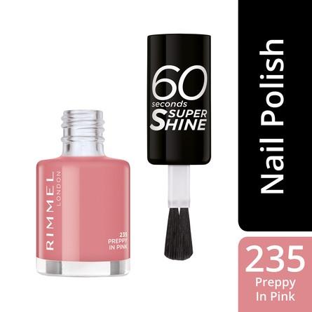 Rimmel 60 Seconds Neglelak 235 Preppy in Pink