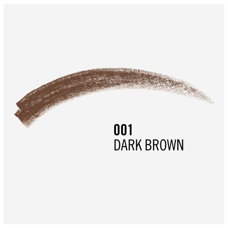 Rimmel Professionel Øjenbrynsblyant 001 Dark Brown
