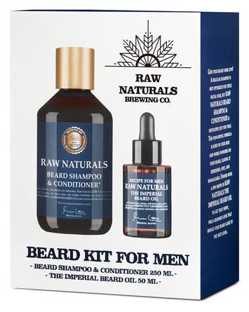 Raw Naturals Beard Kit Gaveæske