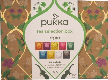 Pukka Tea Selection Box 45 Breve