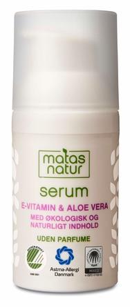 Matas Natur Aloe Vera & E-vitamin Serum 30 ml