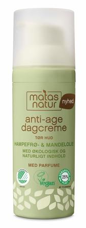 Matas Natur Hampefrø- & Mandelolie Anti-Age Dagcreme 50 ml