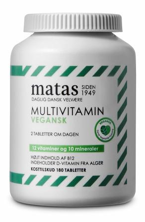 Matas Striber Multivitamin Vegan 180 tabl.
