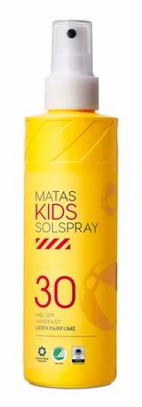 Matas Striber Kids Solspray SPF 30 Uden Parfume 200 ml