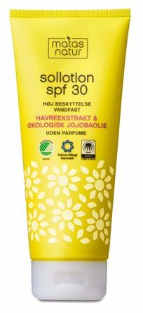 Matas Natur Sollotion SPF 30 200 ml
