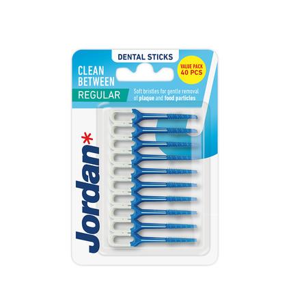 Jordan Tandstikker i plast 40 stk