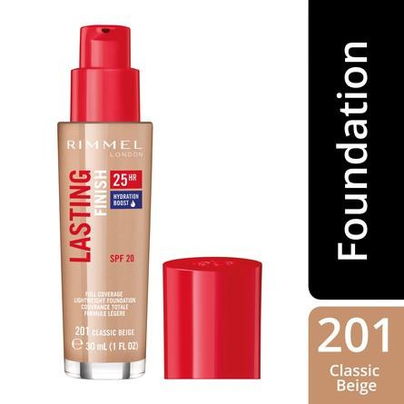 Rimmel Lasting Finish 25H Foundation 201 Classic