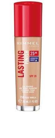 Rimmel Lasting Finish Foundation 150 Rose vanilla
