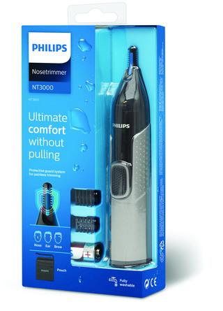 Philips Næse-, Øre- & Øjenbrynstrimmer Series 3000 NT3650/16