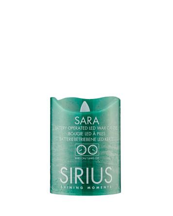 Sirius Sara Bloklys Grøn Ø7,5xH10cm