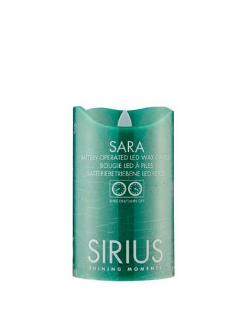 Sirius Sara Bloklys Grøn Ø7,5xH12,5cm
